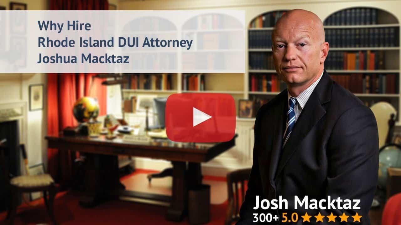 Rhode Island Attorney S. Joshua Macktaz, Esq.