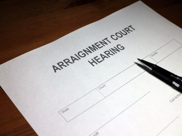 Rhode Island DUI Arraignment